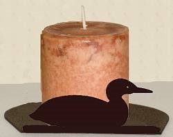 Silhouette Candle Holder - Loon Design