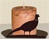 Silhouette Candle Holder - Pheasant Design