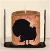 Four Sided Candle Holder - Turkey Design