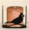 Four Sided Candle Holder - Cardinal Design