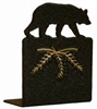 Metal Bookend Set - Bear Design