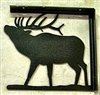 Rustic Cabin Shelf Brackets - Pair- Elk Design