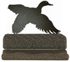 Rustic Metal Business Card Holder - Flying Duck Design