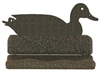 Rustic Metal Business Card Holder - Duck Design