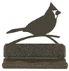 Rustic Metal Business Card Holder - Cardinal Design