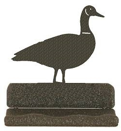 Rustic Metal Business Card Holder - Goose Design