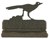 Rustic Metal Business Card Holder - Roadrunner Design
