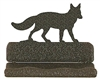 Rustic Metal Business Card Holder - Fox Design