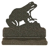 Rustic Metal Business Card Holder - Frog Design