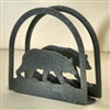 Rustic Napkin/Letter Holder - Bear Arched Design