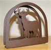 Rustic Napkin/Letter Holder - Deer Arched Design