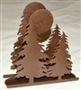 Rustic Napkin/Letter Holder - Tree Design