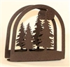 Rustic Napkin/Letter Holder - Tree Arched Design