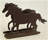 Rustic Napkin/Letter Holder - Horse Design
