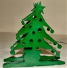 Rustic Napkin/Letter Holder - Christmas Tree Design