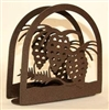 Rustic Napkin/Letter Holder - Pinecone Arched Design