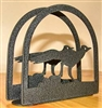 Rustic Napkin/Letter Holder - Roadrunner Design