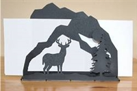 Rustic Letter Holder - Deer Design