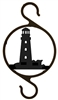 Rustic Plant Hanger Hook- Lighthouse Design