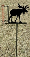 Garden Rain Gauge- Moose Design