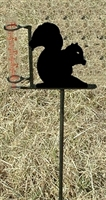 Garden Rain Gauge- Squirrel Design