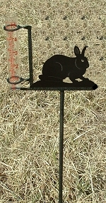 Garden Rain Gauge- Rabbit Design