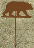 Metal Garden Stake- Bear Design