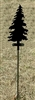 Metal Garden Stake- Tree Design