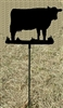 Metal Garden Stake- Cow Design