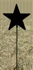Metal Garden Stake- Star Design