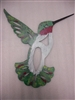 Hand Painted Hummingbird Hanger