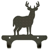 Rustic Wall Mounted Narrow Hook- Deer Design