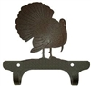 Rustic Wall Mounted Narrow Hook- Turkey Design