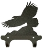 Rustic Wall Mounted Narrow Hook- Eagle Design