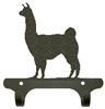 Rustic Wall Mounted Narrow Hook- Llama Design