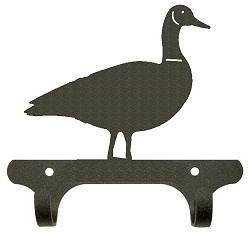 Rustic Wall Mounted Narrow Hook- Goose Design