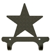Rustic Wall Mounted Narrow Hook- Star Design