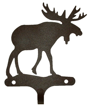 Decorative Single Wall Hook- Moose Design