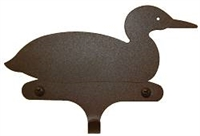Decorative Single Wall Hook- Loon Design