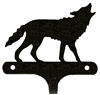 Decorative Single Wall Hook- Wolf Design
