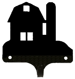 Decorative Single Wall Hook- Barn Design
