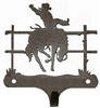 Decorative Single Wall Hook- Bronco Design