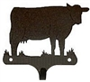 Decorative Single Wall Hook- Cow Design