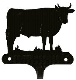 Decorative Single Wall Hook- Bull Design
