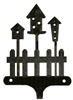 Decorative Single Wall Hook- Birdhouse Design