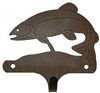 Decorative Single Wall Hook- Trout Design