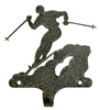 Decorative Single Wall Hook- Skier Design