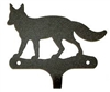Decorative Single Wall Hook- Fox Design