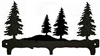 Rustic Wildlife Triple Hook- Tree Design