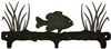 Rustic Wildlife Triple Hook- Pan Fish Design